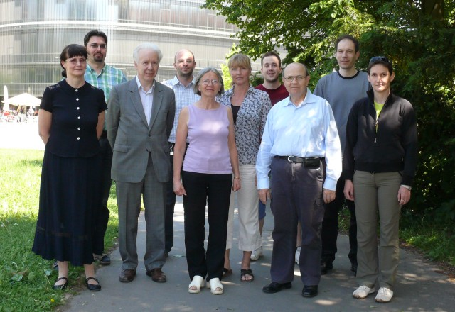 A photograph of members of the Bioprocess Control Laboratory research group