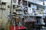 General view of the laboratory of the research group Bioprocesses Control Laboratory with instrumentation
